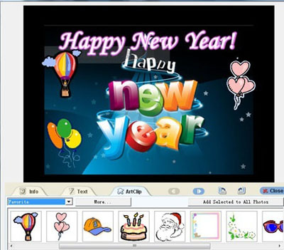 IdeasHow to make a funny Happy new year Slideshow Presentation gift