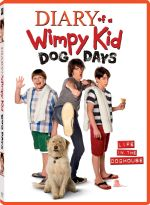 Diary Of A Wimpy Kid Dog Days DVD Cover