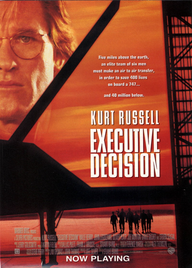 3d Action Wallpaper Hd Executive Decision Dvd Release Date