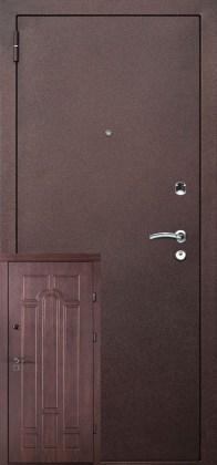 Входные двери Арка металл и мдф