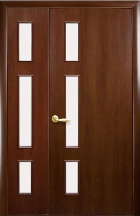 Полуторные двери Герда орех