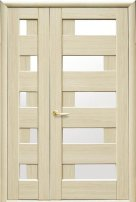 Полуторные двери Пиана ясень делюкс