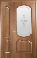 Полуторные двери Рока ПГ золотая ольха
