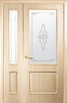 Полуторные двери Вилла Р1 Новый Стиль