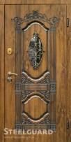 Входные двери Steelguard Sangria Glass со стеклопакетом