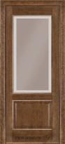 Двери Терминус 04 дуб браун со стеклом бронза
