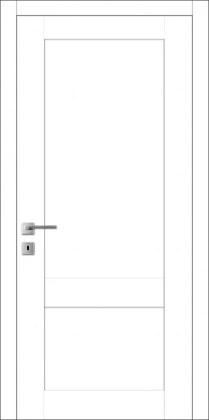 Двери Мюнхен L-30 белая эмаль