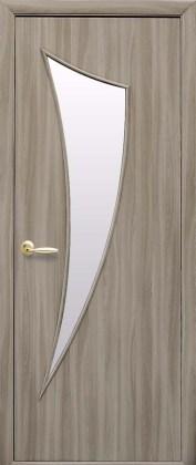 Двери Парус Новый Стиль сандал со стеклом сатин