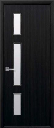 Двери Герда Новый Стиль Венге DeWild со стеклом