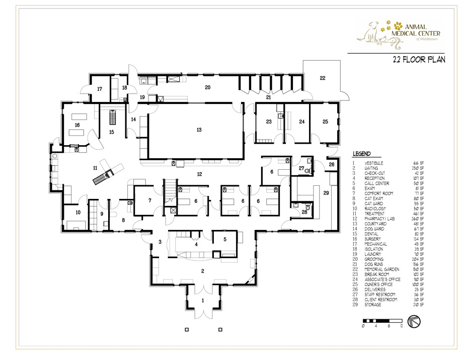 Floor plan Hospital Design Building a Vet Practice - Floorplans - new park blueprint maker