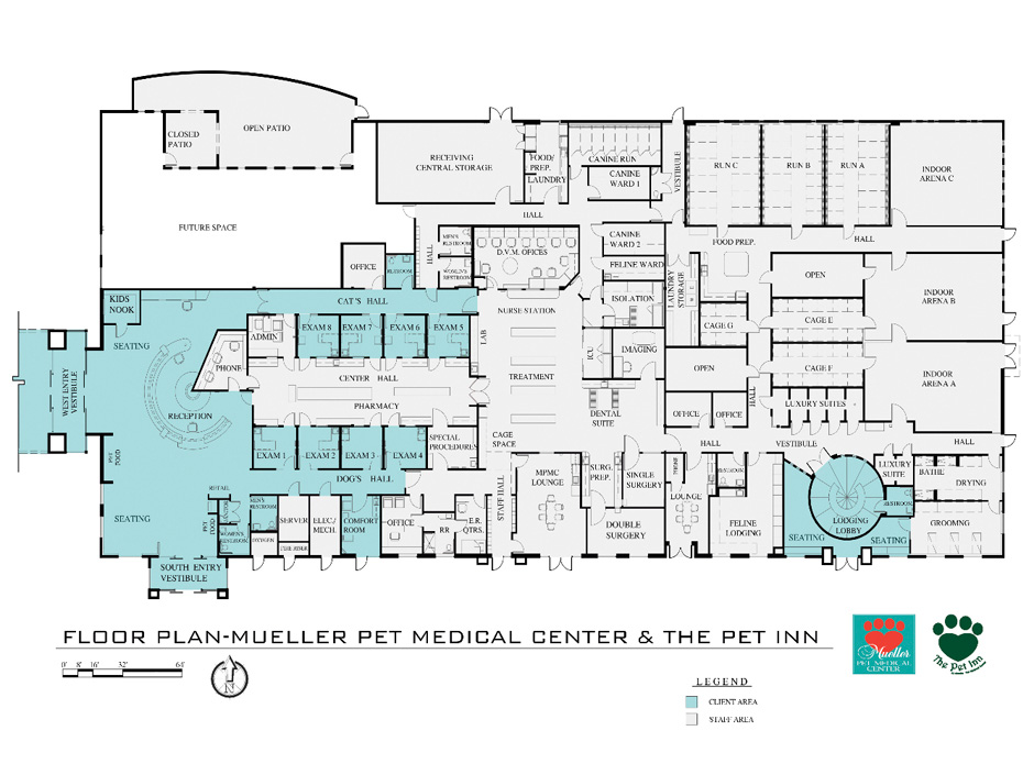 mueller-fp-lgjpg (940×705) Building a Vet Practice - Floorplans