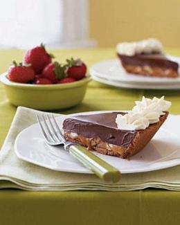 No Bake Chocolate Truffle Pie