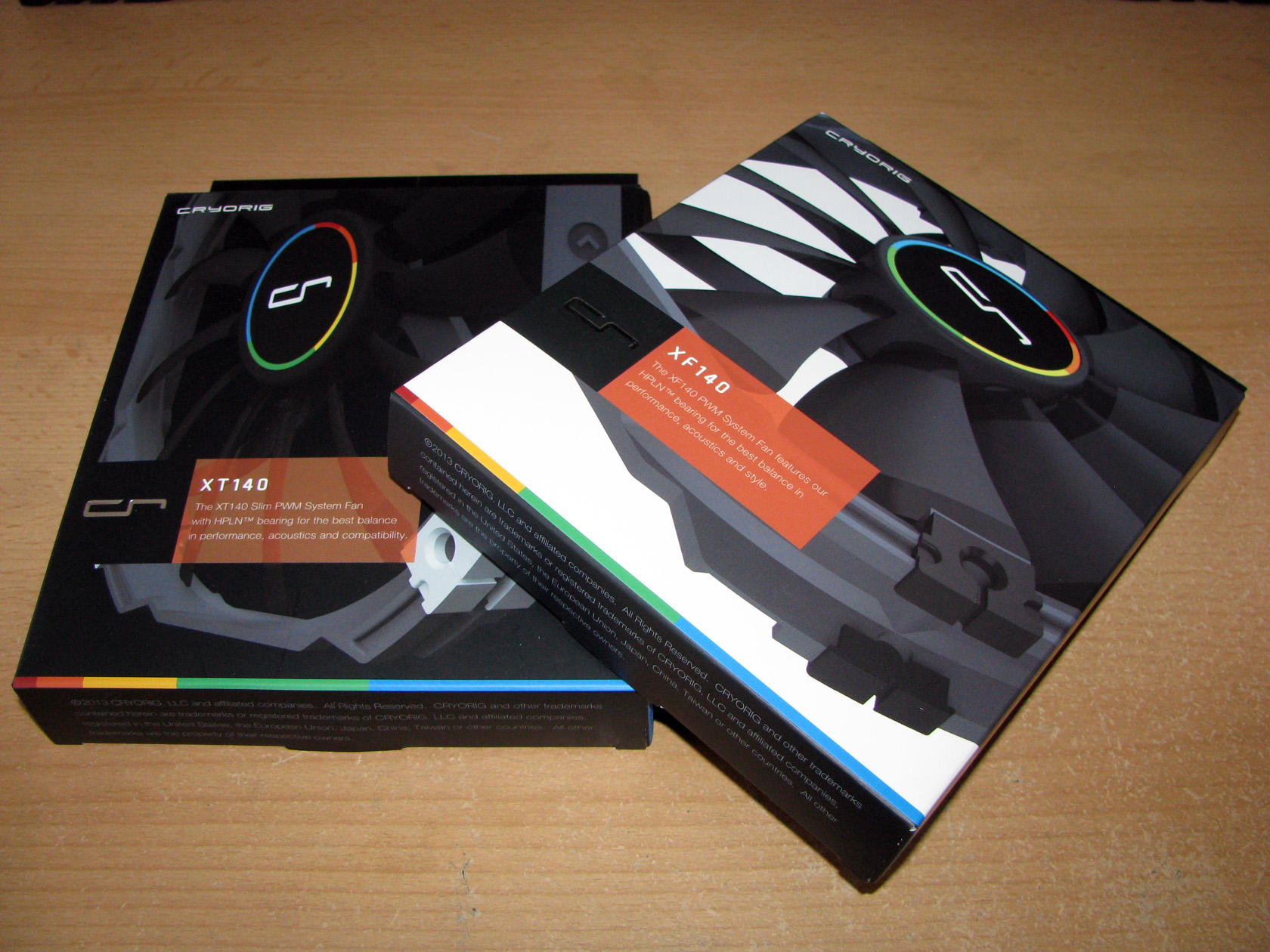 Cryorig XT140 and XF140 – Test and Review