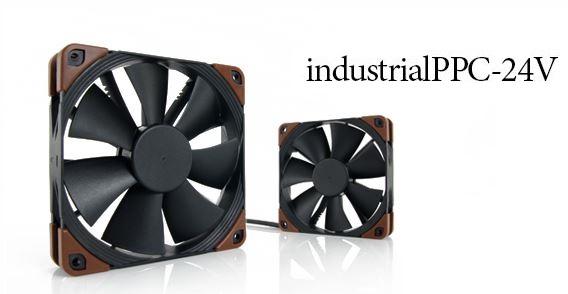 Noctua introduces 24V IndustrialPPC fans