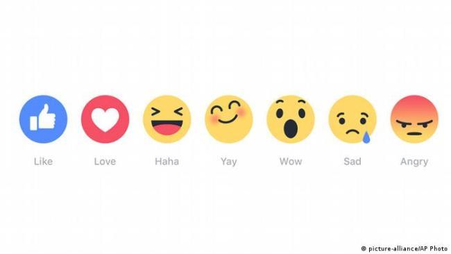 Neue Emoji-Buttons von Facebook