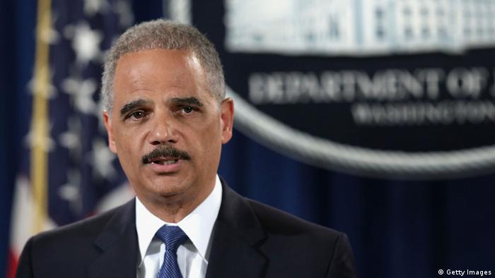 Us Attorney General Eric Holder To Resign News Dw 25