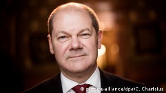 Ο δήμαρχος/πρωθυπουργός του Αμβούργου Όλαφ Σολτς