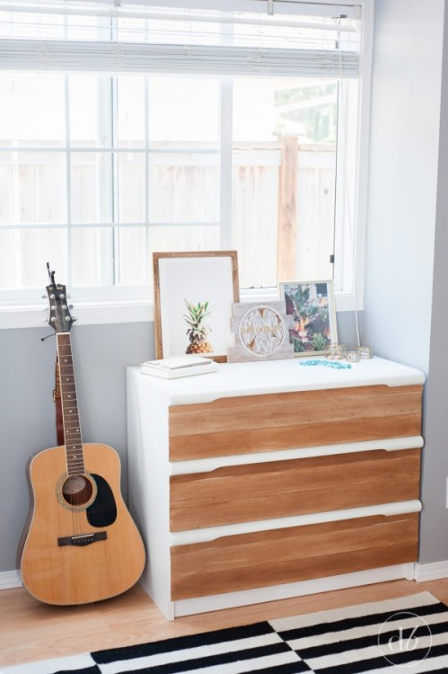 Balsa Wood Dresser Update - Dwell Beautiful