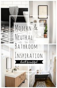 Neutral Master Bathroom Inspiration