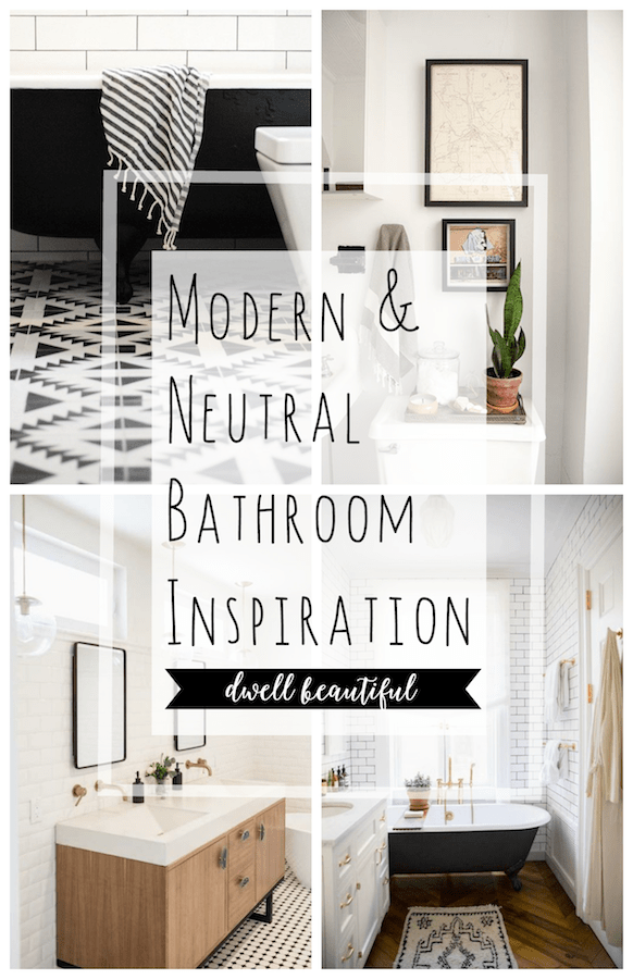 Neutral Master Bathroom Inspiration