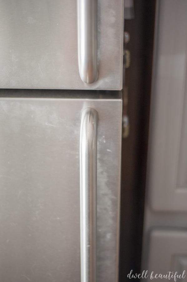 How To Clean Stainless Steel Fridge Door How To Clean Stainless Steel The  Fast And Easy