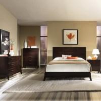 25 Dark Wood Bedroom Furniture Decorating Ideas