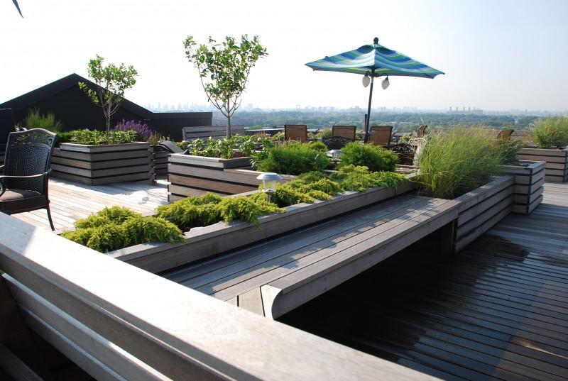 Nyc Garden Design east village nyc terrace design roof garden planter boxes outdoor seating 25 Beautiful Rooftop Garden Designs Get Inspired