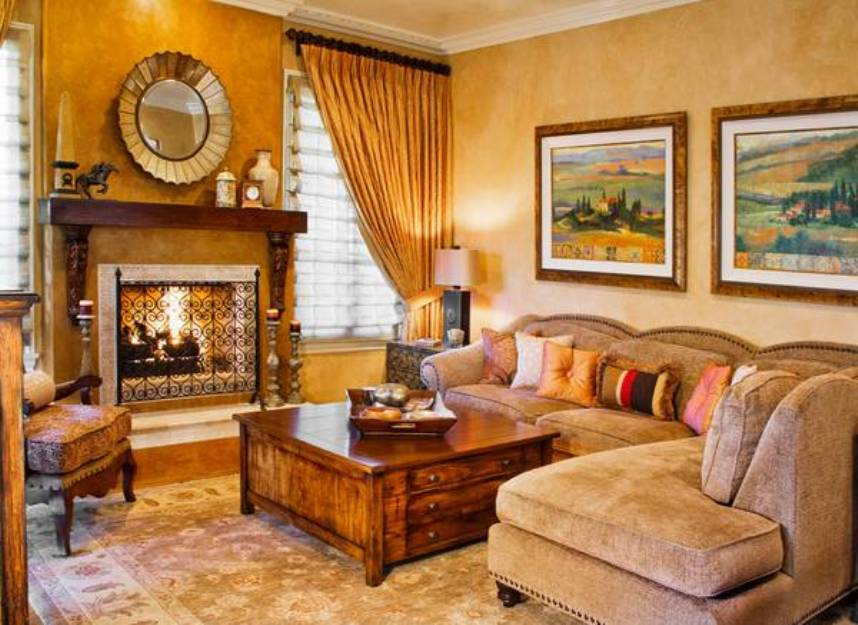 Southwest Living Room Furniture 15 Awesome Tuscan Living Room Ideas