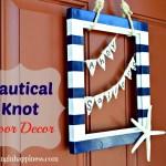 Nautical Knot Door Decor