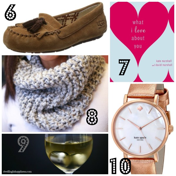 ultimate gift guide collage women 6-10