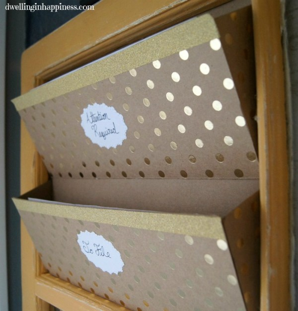 DIY Mail Sorters & Command Center   Dwelling in Happiness
