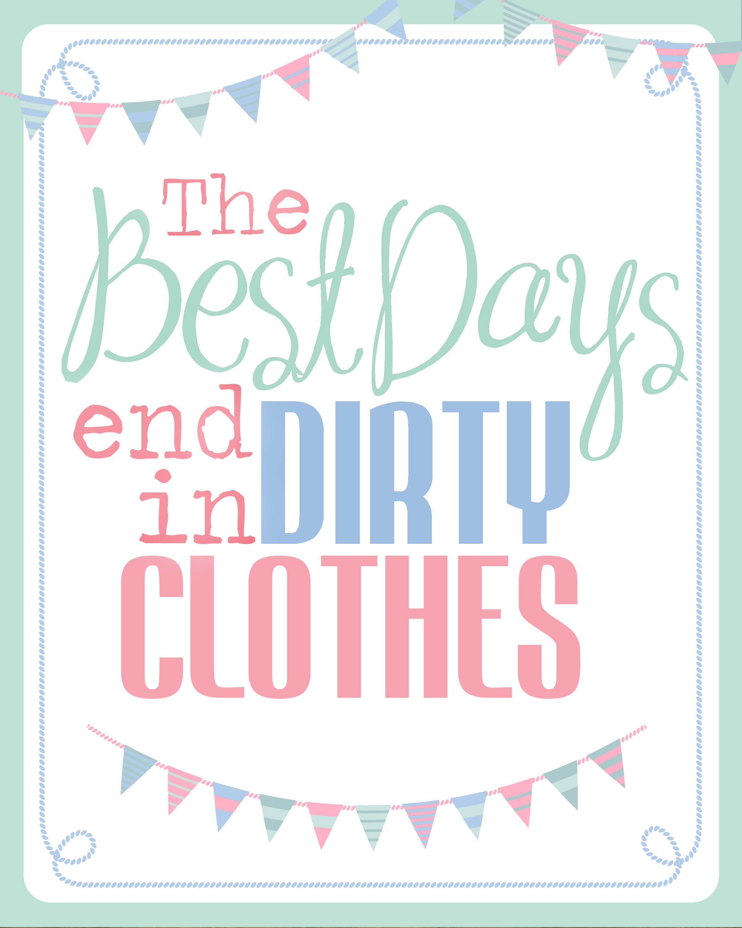 Clothes Wash Signs: 40 Fabulously Free Bathroom & Laundry Room Printables