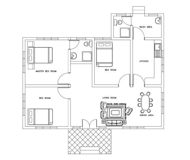 electrical plan dwg pdf