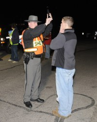 Franklin County DWI sobriety checkpoint