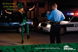 St. Patricks traffic stop