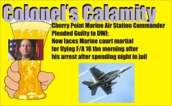 Colonels Calamity news graphic