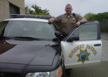 CHP Officer Michael Ball photo by CHP