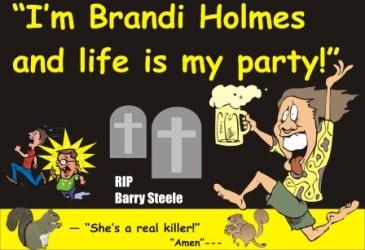 Brandi Holmes killed road worker CA 072611