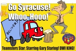 Teamsters official 2nd DWI in New York
