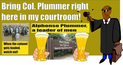 Col Alphonso Plummer DWI and assault on officers 083012