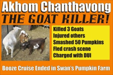 Akhom Chanthavong the Goat Killer