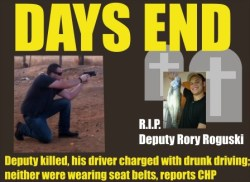 Deputy Rory Roguski killed by DUI driver