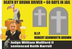 Judge William Mulford gives Keith Harrell 60 days for DUI Fatal