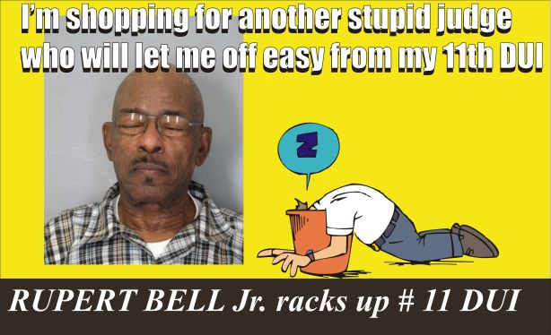 Rupert Bell Jr needs a dopey judge