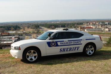 Faulkner County Arkansas Sheriff patrol