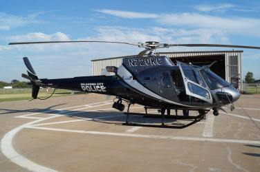 Oklahoma City Police chopper