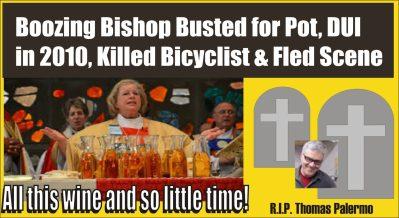 Boozing Bishop hit killed and ran