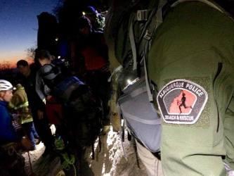 Albuquerque Police search and rescue