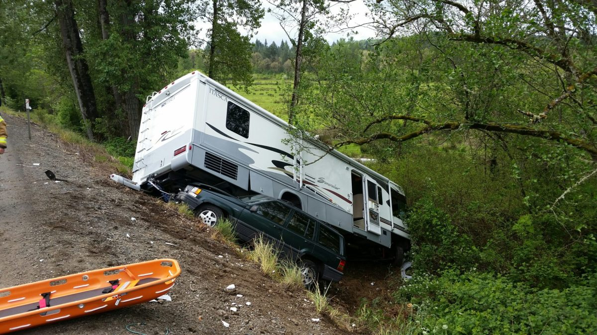 Oregon: State Police report that Randall & Barbara Starr were hit head-on by DUI-drugged driver Scott Cook