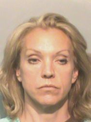 Sonya Heitshusen WHO TV anchor OWI Polk County Iowa Jail